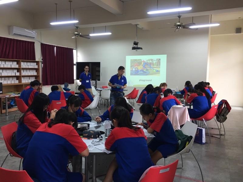 弘文中學舉辦英語暑期營隊 嘉惠潭子國中學生
