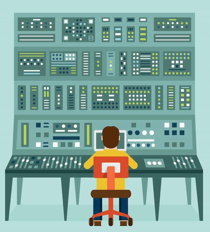 透過線上報修系統,進行校內線上報修服務